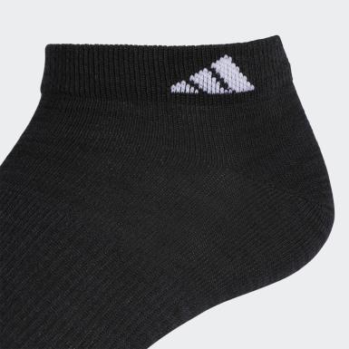 Men's Training Black Superlite Low-Cut Socks 6 Pairs