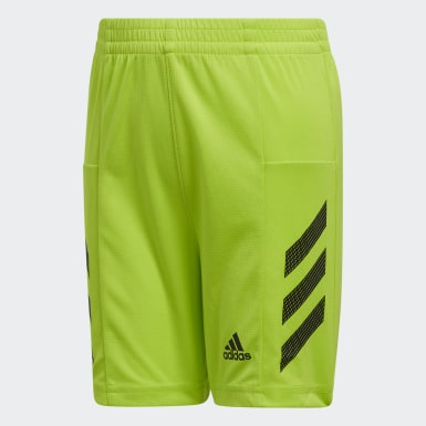 Youth Training Green Pro Sport 3-Stripes Shorts