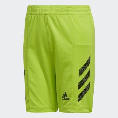 Short Pro Sport3-Stripes vert Adolescents Entraînement