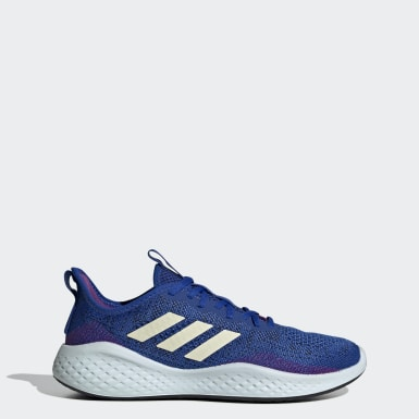 Women Running Blue Fluidflow Shoes