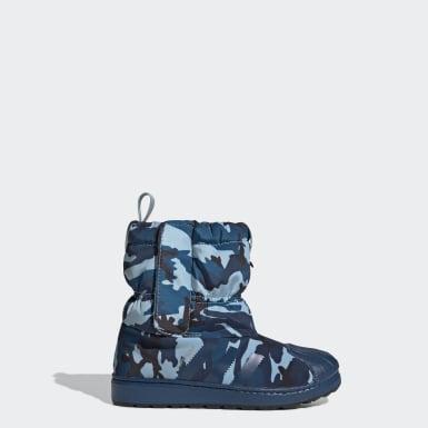 синий Зимние сапоги Superstar