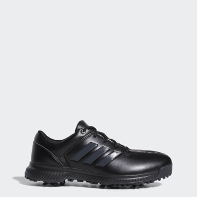 Men Golf Black CP Traxion Shoes