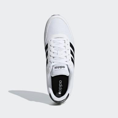 Erkek Sport Inspired White V Racer 2.0 Ayakkabı
