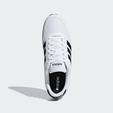 Men Sport Inspired White V Racer 2.0 Shoes