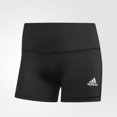 Ženy Squash čierna Šortkové legíny Four-Inch Short