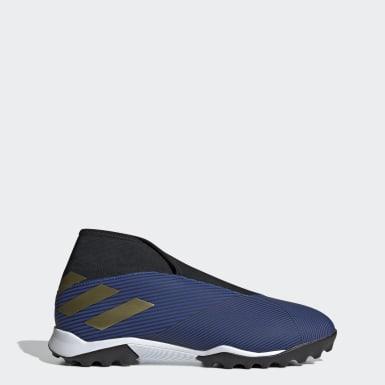 Calzado de Fútbol Nemeziz 19.3 Césped Artificial Azul Hombre Fútbol