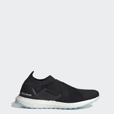 Women Running Black Ultraboost Slip-On DNA Shoes