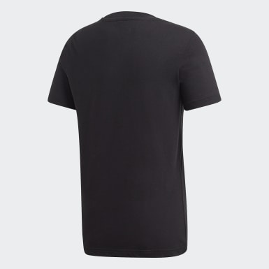 Playera ID Metallic Negro Niño Training
