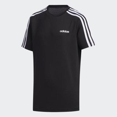 черный Футболка 3-Stripes
