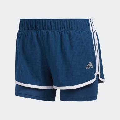 Shorts M10 Azul Mujer Running