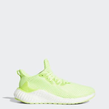 ผู้ชาย วิ่ง สีเขียว รองเท้า Alphaboost