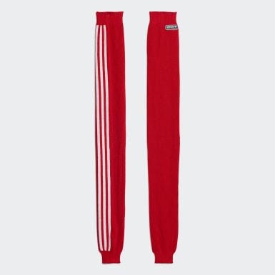 Women Originals Red Lotta Volkova Leg Warmers