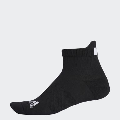 Men Golf Black Basic Ankle Socks