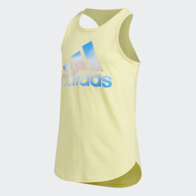 Youth Training Yellow Tulip Tank Top