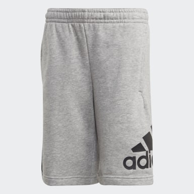 Short Must Haves Badge of Sport gris Adolescents Entraînement
