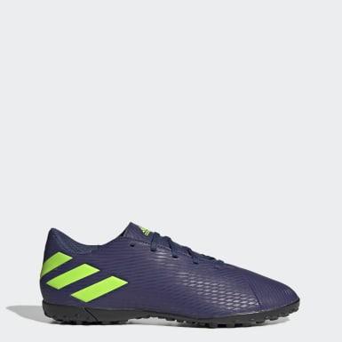 Fodbold Blå Nemeziz Messi 19.4 Turf støvler