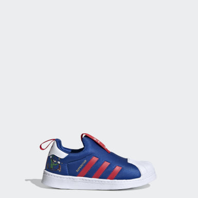 Çocuklar Originals Mavi Superstar 360 Ayakkabı