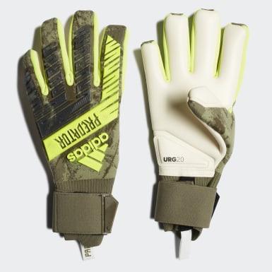 Futbal zelená Brankárske rukavice Predator Pro