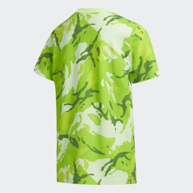 Youth Training Green Classic Camo Tee