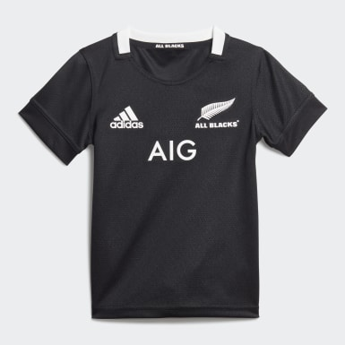 Børn Rugby Sort All Blacks minisæt