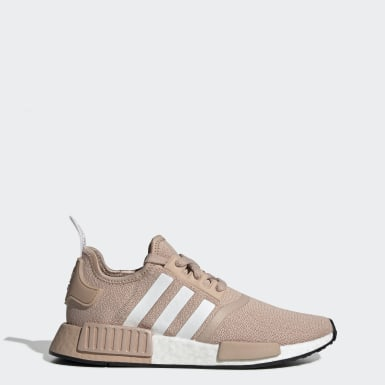 Women Originals Beige NMD_R1 Shoes