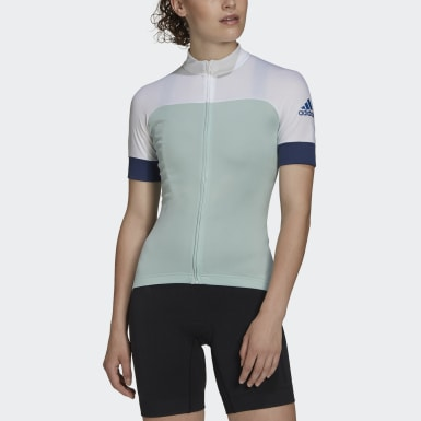 Maillot rad.trikot Turquoise Femmes Cyclisme