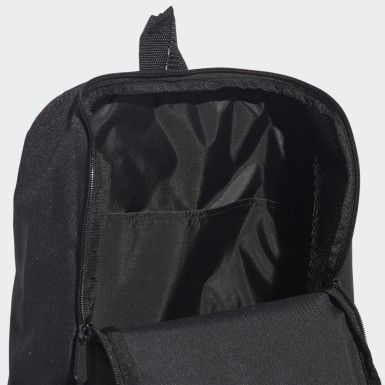 Lifestyle Black 3-Stripes Response Backpack