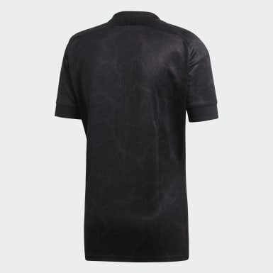Männer Rugby All Blacks 7s Heimtrikot Grau