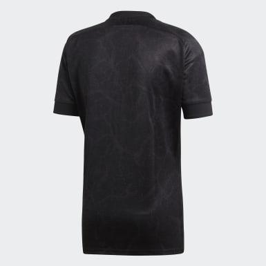 Mænd Rugby Grå All Blacks Home 7s trøje