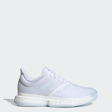Frauen Tennis SoleCourt Schuh Weiß