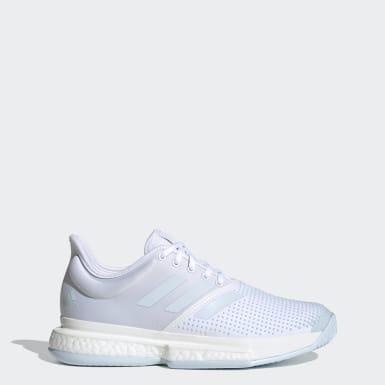 Kvinder Tennis Hvid SoleCourt sko