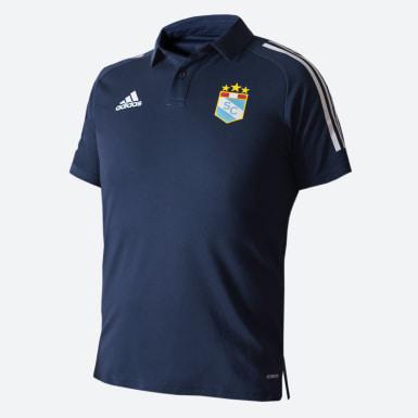 Polo con Cuello SPORTING CRISTAL Azul Hombre Fútbol