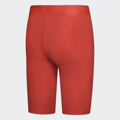 оранжевый Укороченные тайтсы Alphaskin Sport