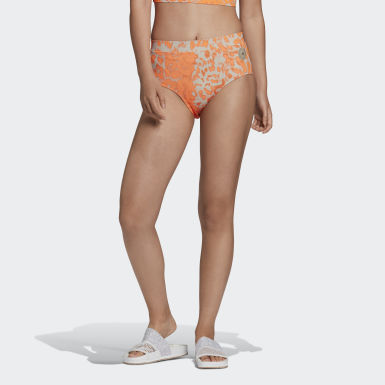 Dames adidas by Stella McCartney Wit TruePurpose Bikinibroekje