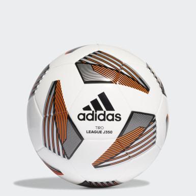 Bola Tiro League Junior 350 Branco Criança Futebol