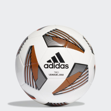 Kids Football White Tiro League Junior 350 Ball