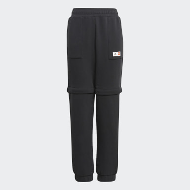 Kids Training Black adidas x Classic LEGO® Two-In-One Slim Tracksuit Bottoms