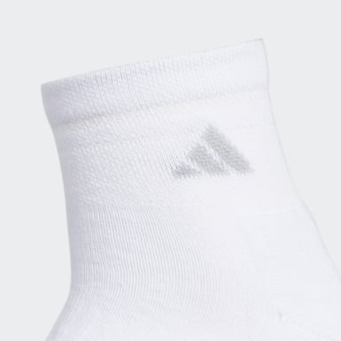 Women's Running White Cushioned 2.0 Quarter Socks 3 Pairs
