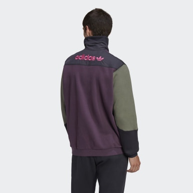 Mænd Originals Rød Adventure Field Half-Zip sweatshirt