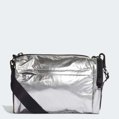 Y-3 Silver Y-3 Mini Gym Bag