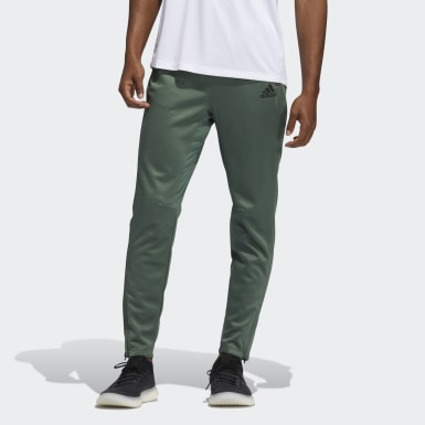 Men Running Green City Base Pants