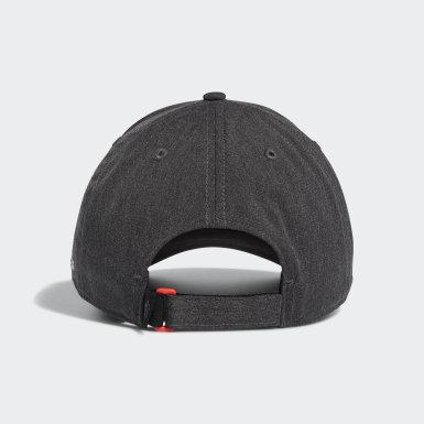 Men Golf Grey Laser Logo Cap