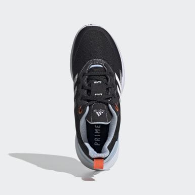 Youth Running Black RapidaRun Elite Primeblue Shoes