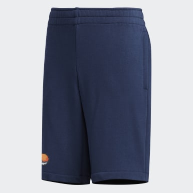 Boys Sport Inspired Blue Pokémon Shorts