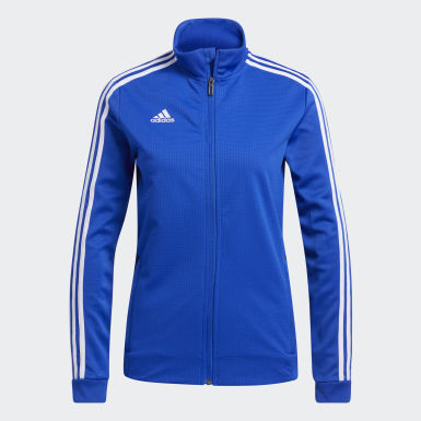 Women's Soccer Blue Tiro 19 Training Jacket