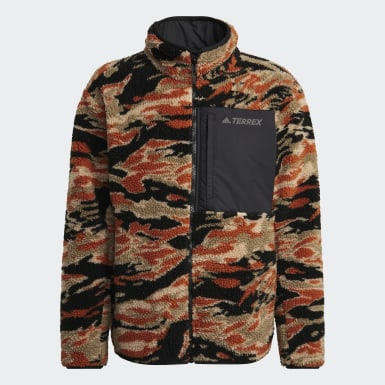 Mænd TERREX Sort Terrex Explore Sherpa Fleece jakke