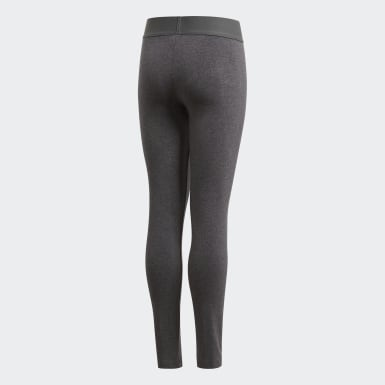 Mädchen Training Must Haves Badge of Sport Tight Grau