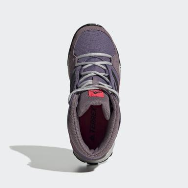 Zapatillas Hyperhiker Púrpura Niño Senderismo