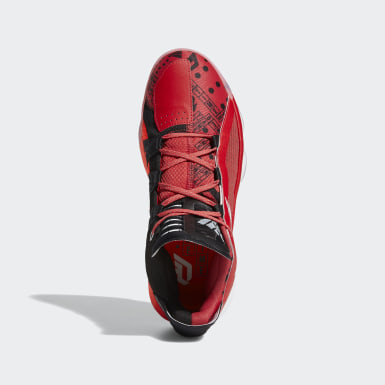 Basketball Dame 6 Schuh Rot