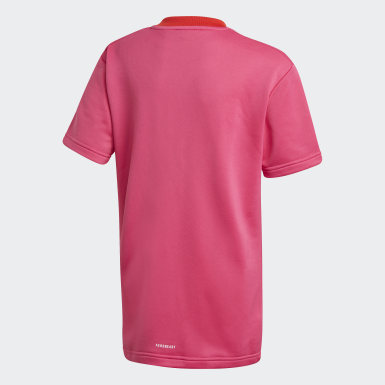 Youth Training Pink adidas x Classic LEGO® Bricks Loose Fit Tee